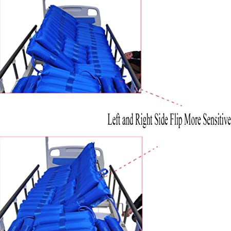 Anti-decúbito inflable colchón de aire colchón inflable colchones ancianos/discapacitados azul anti BEDSORE prevenir el tratamiento de decúbito: Amazon.es: ...