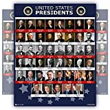All Presidents of the united states Of America EXTRA LARGE poster NEW chart LAMINATED Classroom Big school decoration HUGE learning history usa 24x30