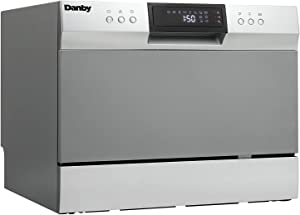 Danby DDW631SDB Countertop Dishwasher, Stainless (Pack of 4)