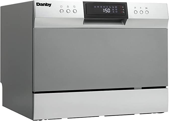 Amazon.com: Danby DDW631SDB Encimera Lavavajillas, Acero ...