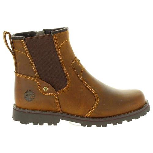 d6a030ed5 Botas de Niño y Niña TIMBERLAND 1371R Asphalt Brown  Amazon.es  Zapatos y  complementos