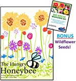 The Hungry Honeybee - Bee Books for Children - A Honeybee's Journey and a Gardener's Mission - This Bee Books for Kids Teaches the Importance of Bees - Christmas Gift Stocking Stuffer Books for Kids