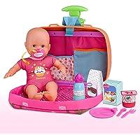 Nenuco - Siempre Conmigo, Maletín trolley con ruedas y asas para llevar a todas partes como mochila, bebe Nenuco y…