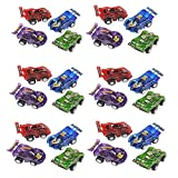 "Big Mo's Toys 24 Piece 2.5"" Party Pack Assorted Pull Back Racing Cars. - Fun Gift Party"