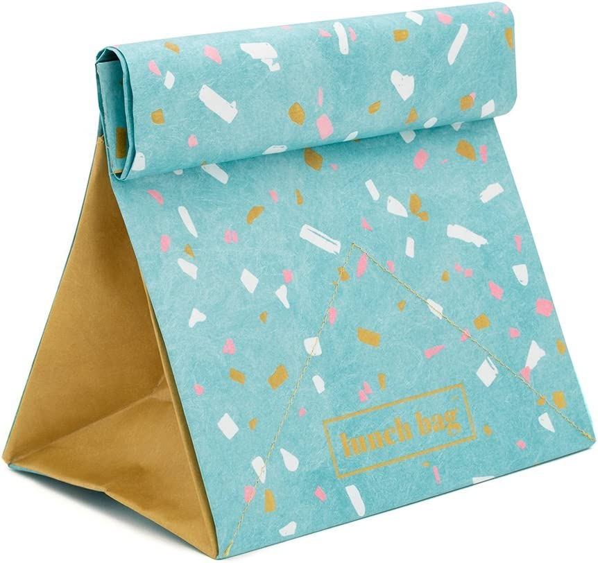 Luckies of London LUKLUN Lunchtasche Paper blau