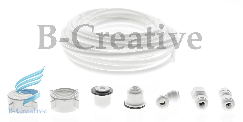 b-creative universale American double Fridge filtro acqua tubo tubo connettore kit