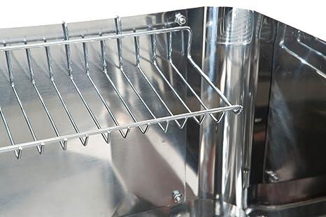Landmann 11290 - Barbacoa de acero inoxidable