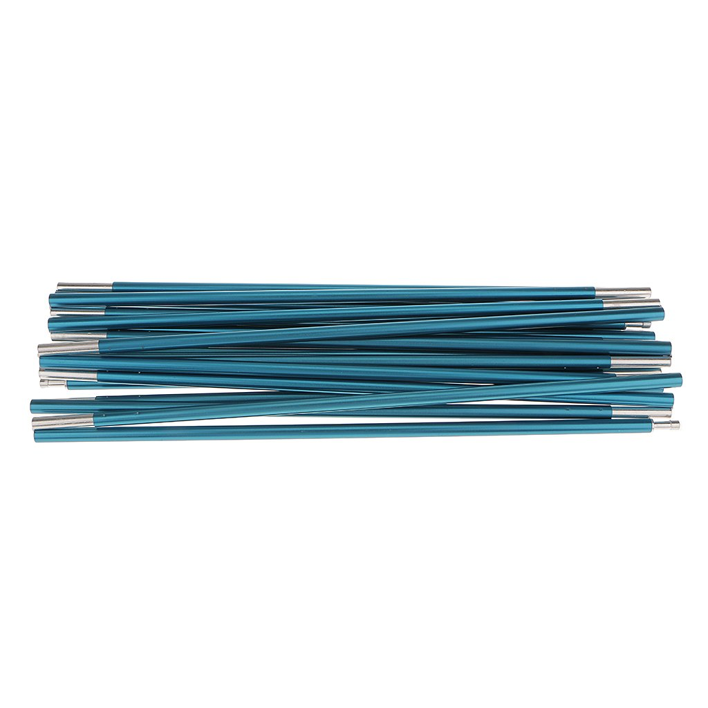 Toygogo Aluminum Alloy 13 Sections Outdoor Camping Spare Replacement Tent Awning Poles