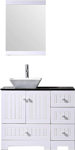Sliverylake 36″ Bathroom Vanity and Sink Combo