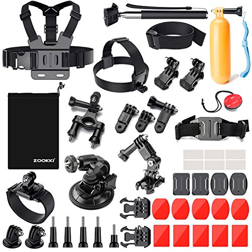 Zookki 39-in-1 Accessories Kit for GoPro
