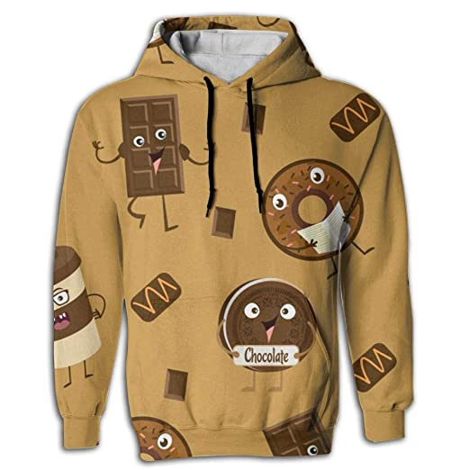 30552ce69afb Amazon.com  Unisex 3D Fun Print Sweaters With Pockets Hoodie ...