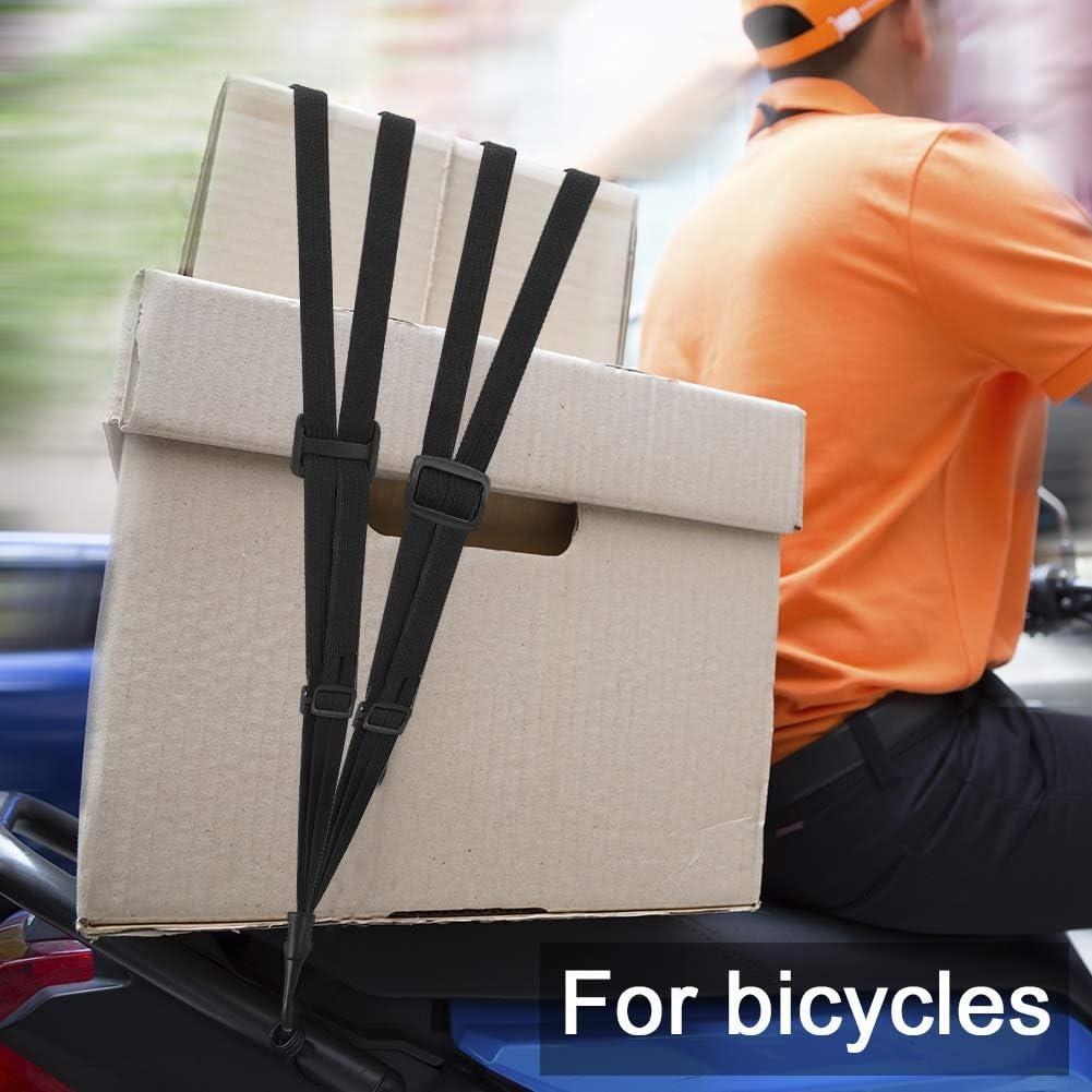 Fahrradgep/äck SUSSURRO Fahrrad Spanngurt Elastische Gep/äckgurt Flache Spannseile mit Haken Verstellbarer Gep/äckspanner Gep/äcktr/äger Fahrradgurt f/ür Motorradhelm
