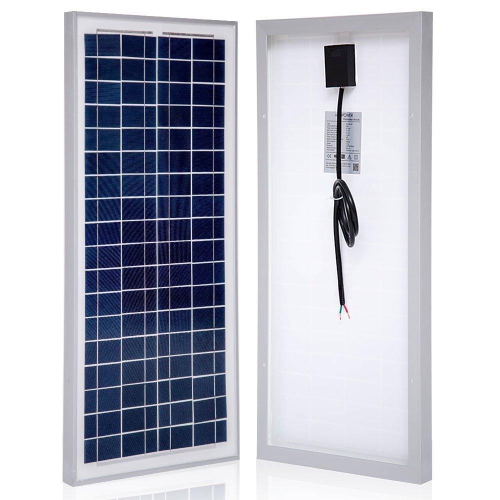 Amazon.com : 75 Watt Polycrystalline Photovoltaic PV Solar Panel Module for  12 Volt Battery Charging : Garden & Outdoor