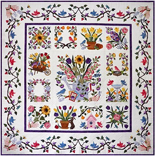 - P3 Designs Baltimore Spring BOM Applique Quilt Pattern Set
