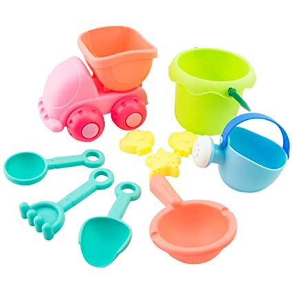 Amazon.com: leegor 10 piezas Niños silicona suave juguetes ...