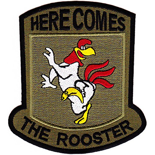 (377th Aviation Medical Company Dustoff Patch Here Comes The Rooster)