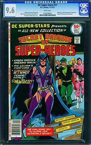 DC Super-Stars #17-CGC 9.6-first Huntress-comic book-1977 (1977 Dc Comic Book)