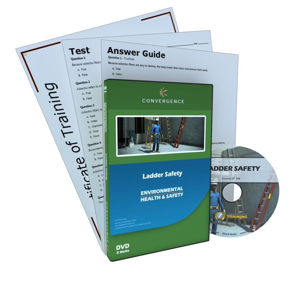 Convergence Training C-806 Ladder Safety DVD