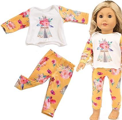 Fashion Doll Clothes Dress Pajama Nightwear Accessory for 16/'/' Inch Baby Dolls