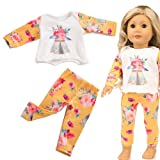 Lavany Doll Clothes Cute Winter Pajama Outfits