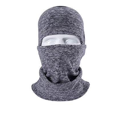 cee18ae7fc2 Men Women Winter Balaclava Adjustable Full Face Motorcycle Mask Windproof Motorcycle  Helmet Liner Head Hood