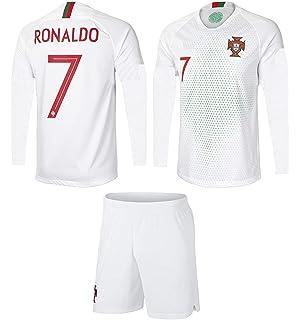 e42276698f1 JerzeHero Portugal Ronaldo  7 Kids Youth Soccer Gift Set ✓ Soccer Jersey ✓  Shorts ✓