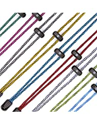 "BOOMLACES ""Laces With Power"" Athletic, Elastic, No Tie Shoelaces with Locks. Excellent for Running, Hiking, Triathlons & More. Ideal for Kids & Adults."