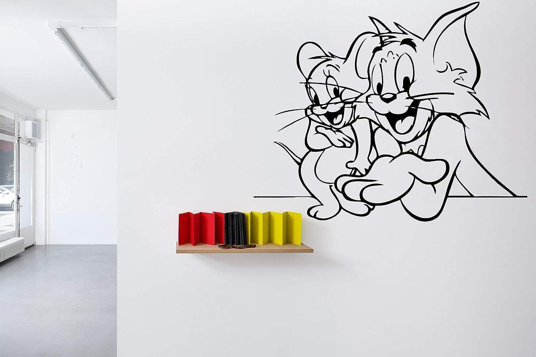 Tom and Jerry Vinyl Record Wall Clock Fun Art Home Decor 12/'/' 30cm 519