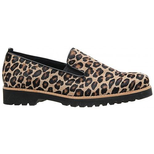 Gabor - Mocasines para mujer Multicolor leopardo: Amazon.es: Zapatos y complementos
