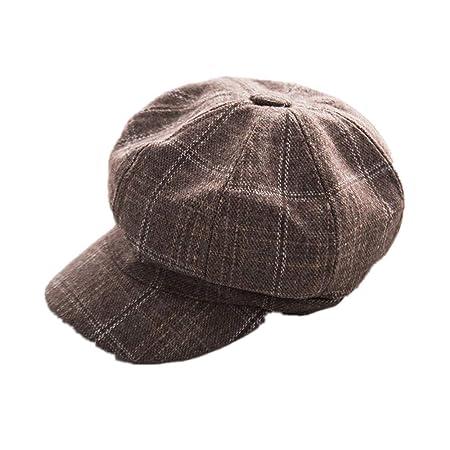 ZOODQ Sombrero de señora Beret Estilo francés Boinas de Lana para Mujer  Gorritas clásicas Retro Gorra para Mujer Sombreros Baker Boy Gorro Plano  Vendedor de ... 3afe544295e