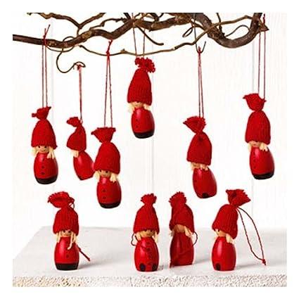 Scandinavian Swedish Danish Norwegian Christmas Gnome Ornaments - Package  of 10 - Amazon.com: Scandinavian Swedish Danish Norwegian Christmas Gnome