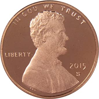 PENNY  **FREE SHIPPING** 2015 S LINCOLN SHIELD *PROOF* CENT
