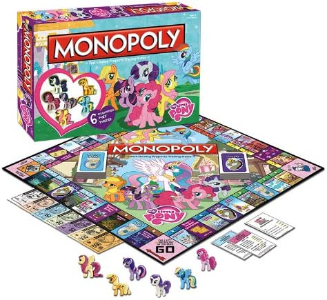 Monopoly: My Little Pony: Friendship Is Magic: USAopoly: Amazon.es: Juguetes y juegos