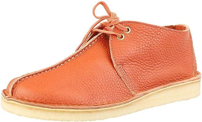 Invitación Aburrir meditación  Amazon.com   Clarks ORIGINALS Desert Trek Mens Casual Shoes in Burnt Orange  - 9 US   Oxfords