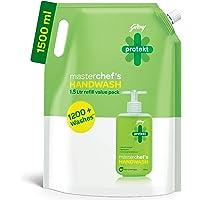 Godrej Protekt Masterchef's Liquid Handwash Refill, 1500 ml