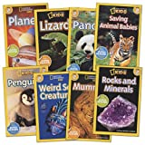 Kaplan National Geographic Readers - Level 2 (Set of 8)