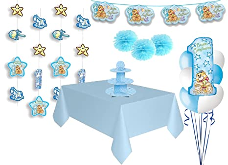 Magic Party Set Decorazioni Fai Da Te Primo Compleanno 1 Anno