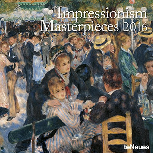 2016 Impressionism Masterpieces Wall Calendar