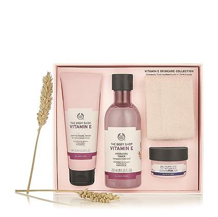 El cuerpo Shop vitamina E para el cuidado de la piel Gift Set