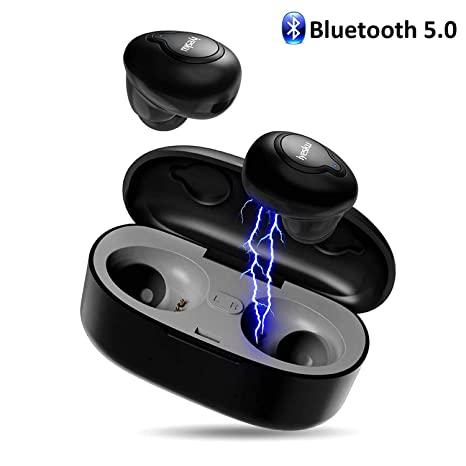 ac6903f4160 Wireless Bluetooth Earbuds Bluetooth Headphones, iyesku True Wireless  Earbuds Audifonos Bluetooth 5.0 IPX5 15H Playtime
