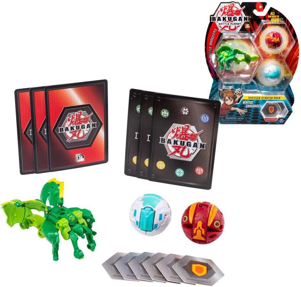 BAKUGAN Conjuntos de Inicio Selección Spinmaster | Battle Brawlers ...
