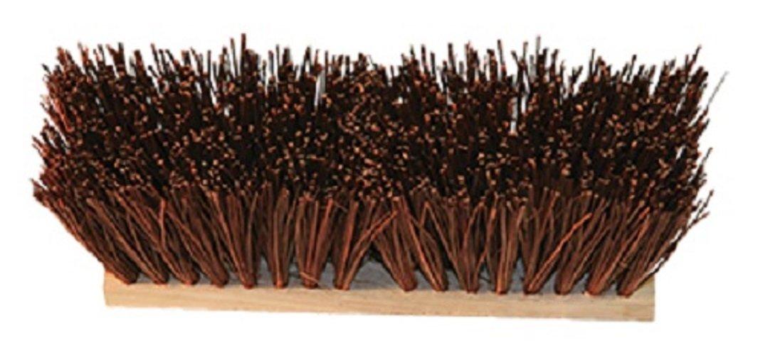 O'Cedar Commercial 20604 16'' Street Broom, 6-1/4'' Trim, Palmyra (Pack of 6)