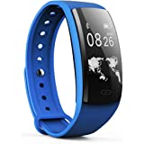 Sundray Fitness Tracker,Activity Tracker with Heart Rate Monitor ,IP67 Waterproof,Smart Bracelet with Step Tracker Sleep Monitor Calorie Counter Pedometer Watch for Android and IOS