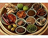 10x8 Print of Spices used in Thai food, Thailand, Southeast Asia, Asia (5061346)