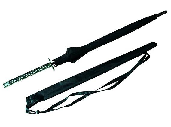 Japonesa espada Samurai paraguas y#x2605; Katana estilo y#x2605; Nylon paraguas espada y#x2605; Estuche con Honda#x2605; 100% devolución: Amazon.es: ...