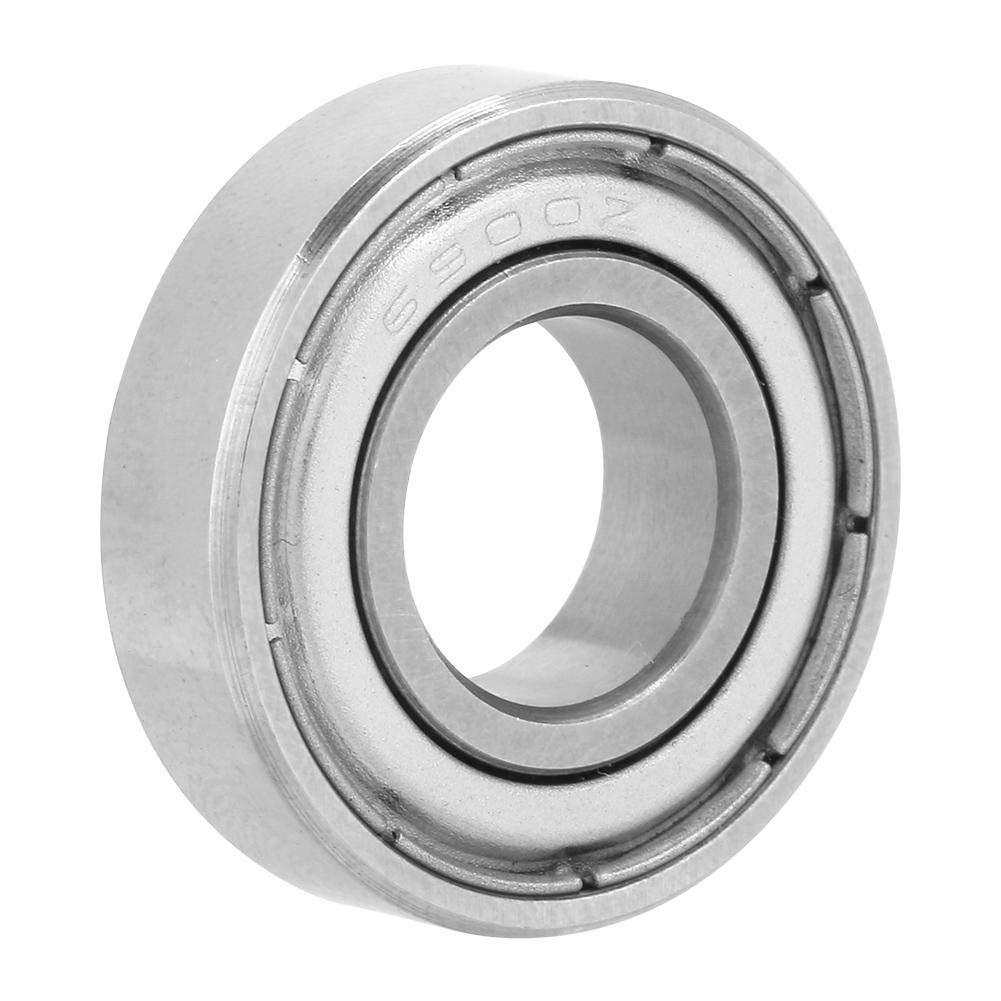 Cuscinetti a sfere in miniatura confezione da 10 pezzi 6900ZZ Kit cuscinetto a sfere in miniatura 10 /× 22 /× 6mm 0.4 /× 0.9 /× 0.2in a doppia schermatura