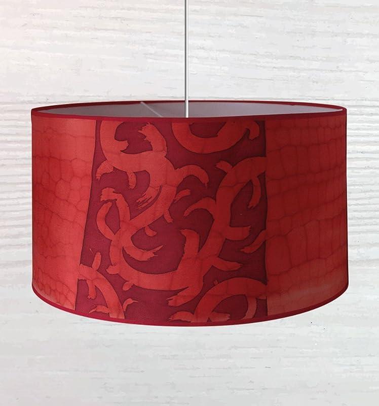 Pantalla de lámpara 100% seda pintada a mano. Apta para lámparas ...
