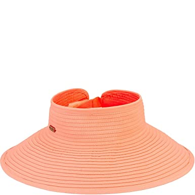 Sun  N  Sand Roll Up Hat (Coral) at Amazon Women s Clothing store  f518b2da0ad