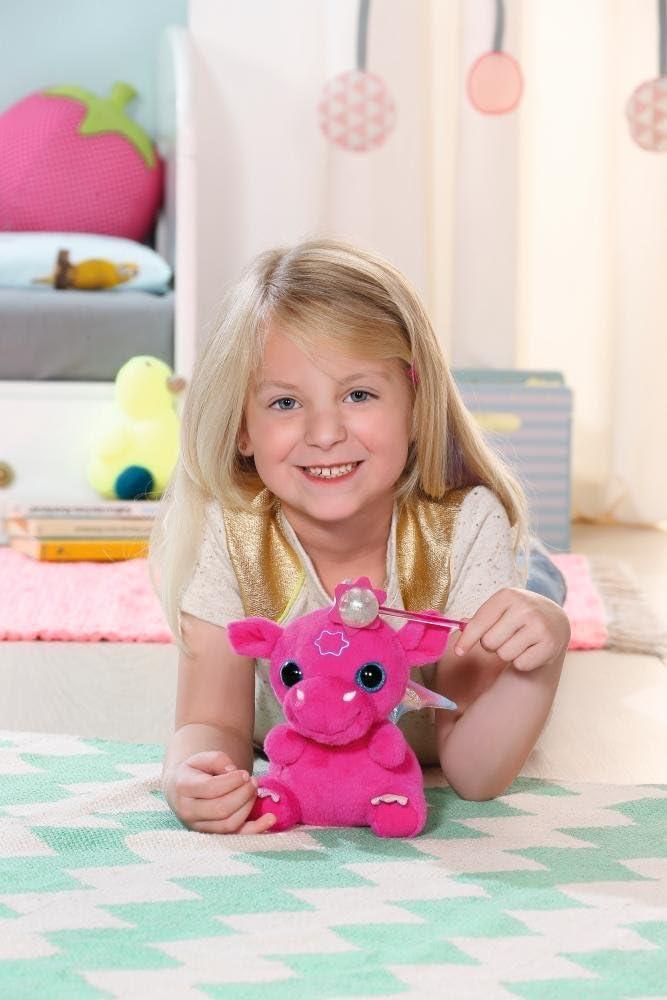 Zapf Creation 822418 Baby-Drache mit Zauberstab Geräuse rosa BABY BORN