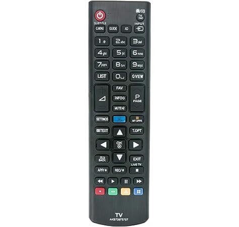 ALLIMITY AKB73975757 Control Remoto Reemplazar por LG TV 32LB570V 32LB580V 39LB570V 39LB580V 42LB570V 42UB820V 49UB820V 49UB830V 55UB820V 55UB830V: Amazon.es: Electrónica